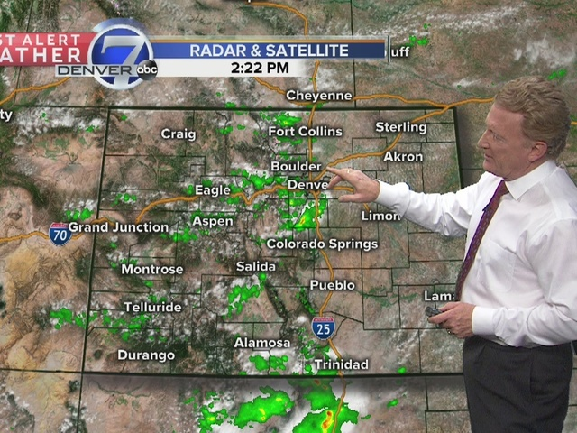 More storms and showers developing this afternoon