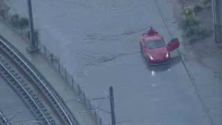 Flooding on Broadway ramp to SB I-25 cleared