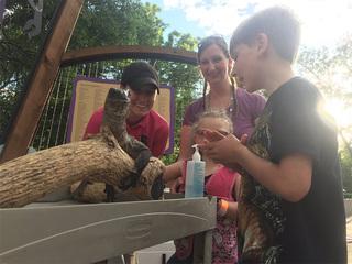 Special needs children enjoy Zoo's 'Dream Night'