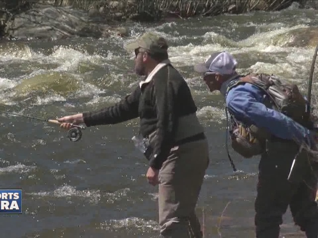Wounded warriors are hooked on fly fishing