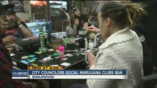 Englewood votes to ban pot clubs