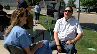 Physician takes free healthcare to the streets