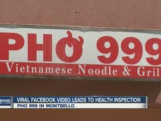 Viral video prompts restaurant inspection