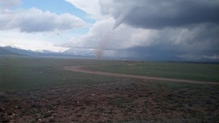 Unusual tornado warning Monday in Park County
