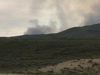Beaver Creek Fire burns cabin, outbuildings