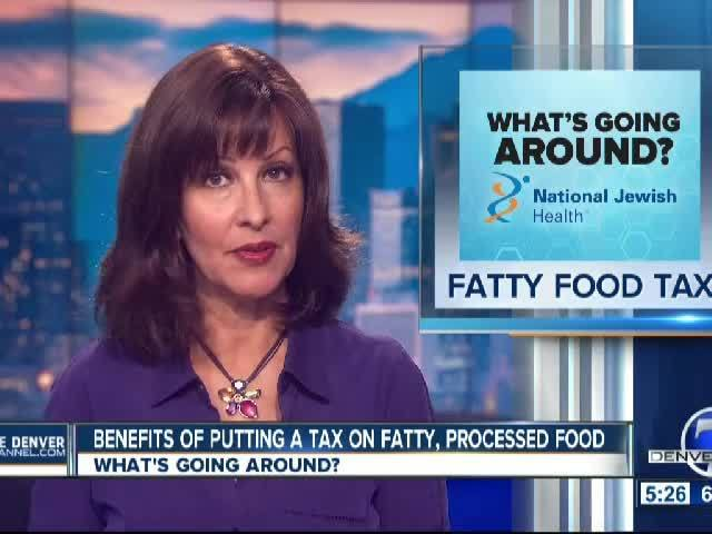 Taxes on Fatty, Processed Food