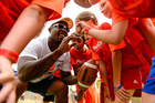 Von Miller returns to Denver for football