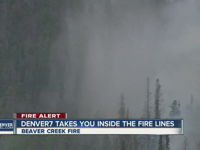 Inside the fire lines of the Beaver Creek Fire