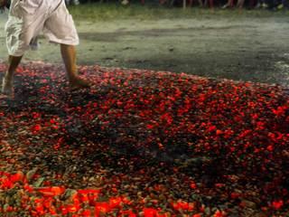 30+ burned in Tony Robbins' hot-coals walk