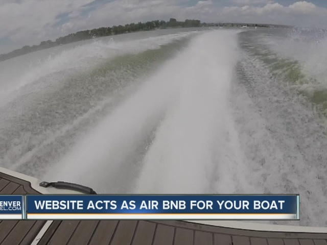 An Airbnb for boats gaining popularity in Colorado