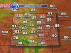 Hotter temperatures to start the work week