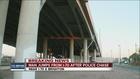Man survives jump off bridge after police chase