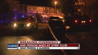 Strip club shooting leaves 1 injured