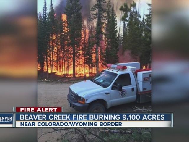 Beaver Creek Fire Near Walden Grows To 13 275 Acres Now 5