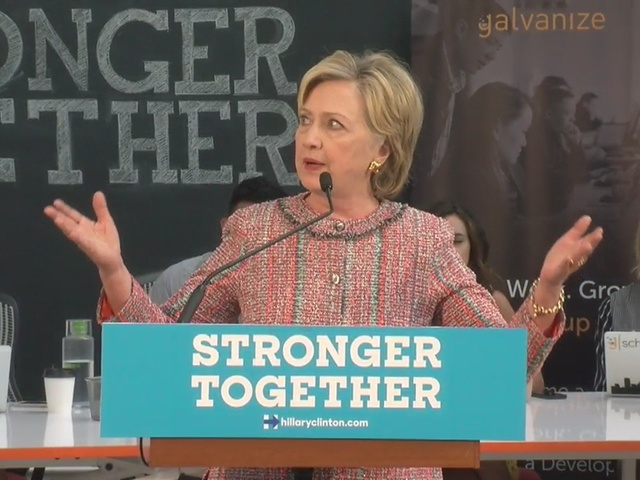Hillary Clinton offers debt forgiveness to young entrepreneurs