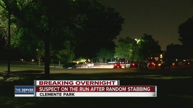 1 man hospitalized after stabbing attack at park
