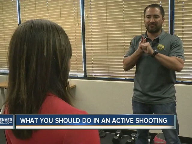 What you should do in an active shooting