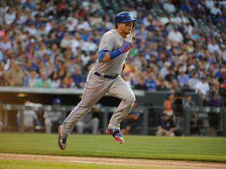 Tulo homers in Blue Jays' first win in Colorado