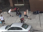 WATCH: Violent homeless attack at 16th St. Mall