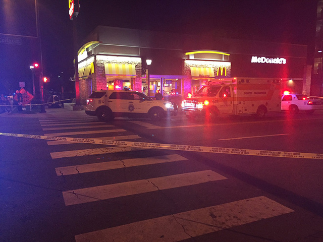 1 killed in shooting near McDonalds in Cap. Hill