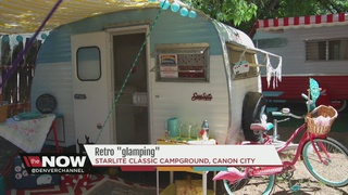 Retro campers take guests back to simpler times