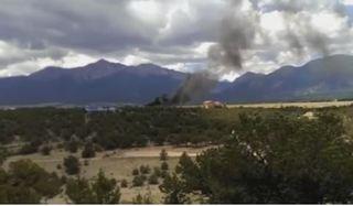 Pilot made mayday call before plane crash
