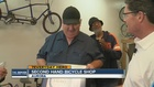Local man repairs bikes, then gives them away