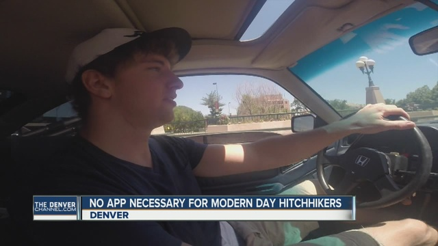No app necessary for modern-day hitchhikers - 7NEWS Denver ...