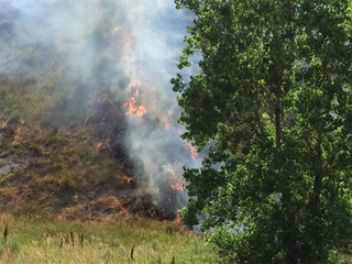 Hogback Fire: WB I-70 back open at C-470