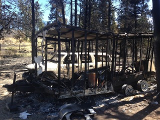 Memories and homes all lost in Cold Springs Fire