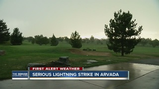3 people hurt after being struck by lightning