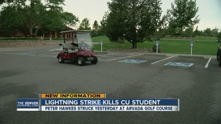 Man struck by lightning at golf course ID'd