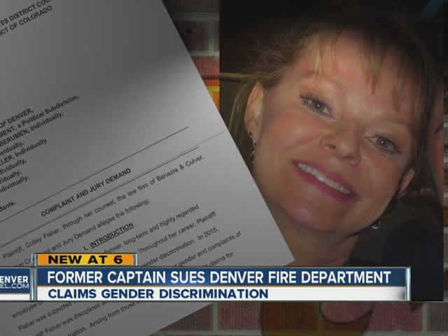 Former captain sues Denver Fire Department