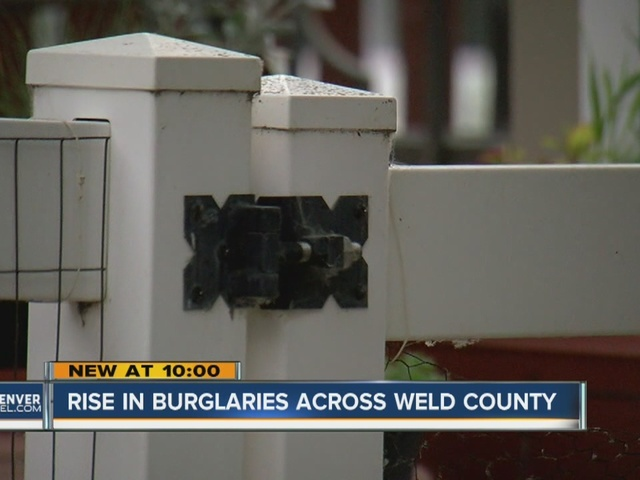 Rise in burglaries across Weld County