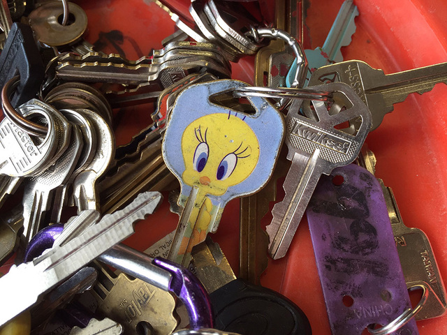 More than a dozen keys found in stolen struck