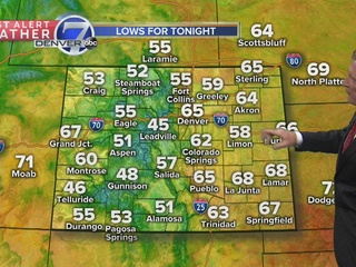 A few isolated storms still possible