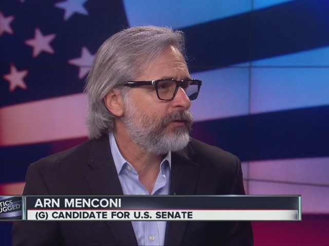 Arn Menconi, Green Party Candidate for U.S. Senate