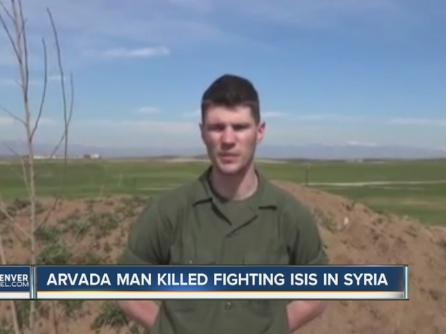 Colorado man killed fighting ISIS in Syria.