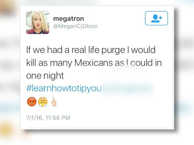 Greeley waitress fire for hateful tweet