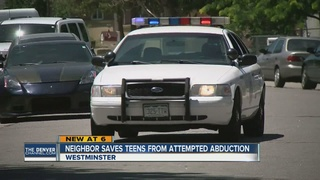Woman saves teen girls from attempted abduction