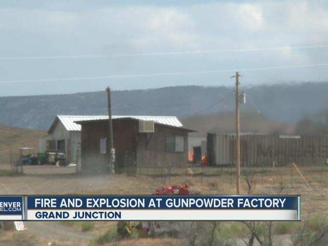 1 injured in gun powder plant explosion