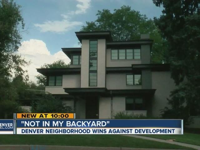 Denver neighborhood takes on developer and wins