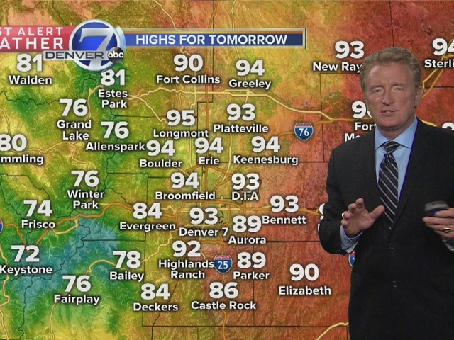 First Alert Weather Late Afternoon Monday