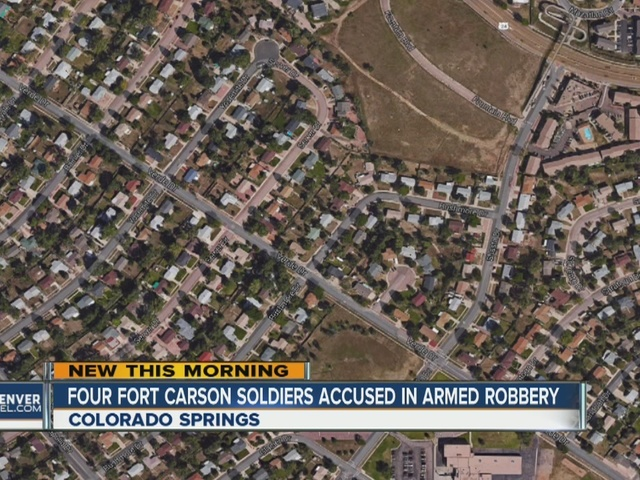 Fort Carson soldiers accused in home invasion