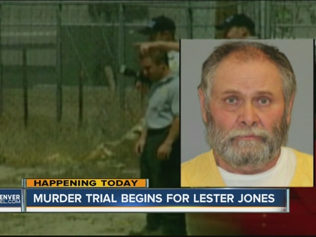 Lester Jones murder trial begins