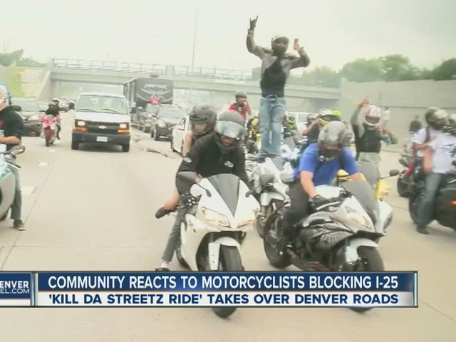 Motorcyclists upset about