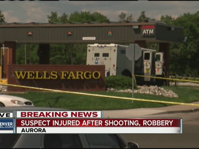 Suspect injured in shootout following robbery