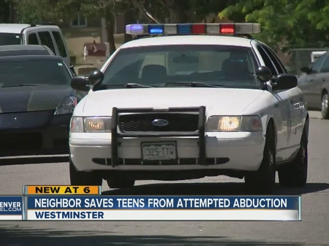 Westminster woman saves teens from attempted abduction