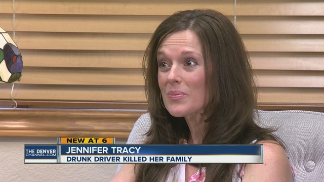 Woman forgives man who killed her family