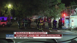 Fire damages home days after shooting